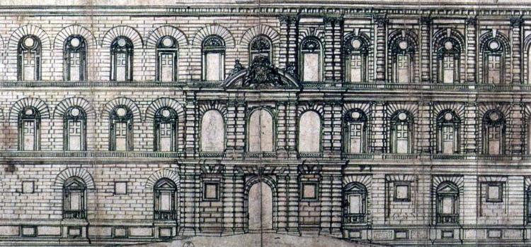 La Firenze che NON fu (3): la facciata barocca di Palazzo Pitti.