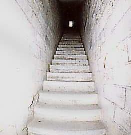 La scala segreta del Campanile di Giotto