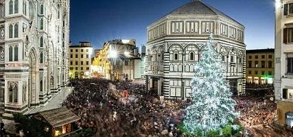 Passeggiare per Firenze nel periodo natalizio