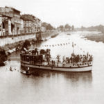 Navigando sull'Arno a Firenze: la Raspamota