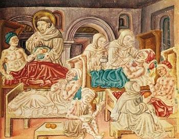 Firenze al tempo della peste nera, pandemia mondiale del 1348, seconda parte