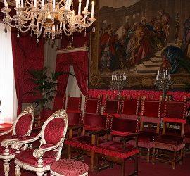 L'ambita Sala Rossa di Palazzo Vecchio