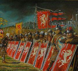 Battaglia di Campaldino del' 11 giugno 1289 e sconfitta ghibellina