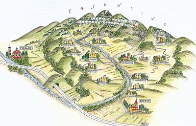 Partenza da Firenze verso Arezzo