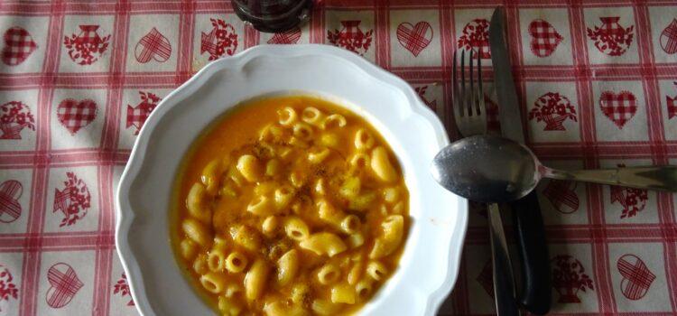 Pasta e fagioli come si faceva a casa Francalanci
