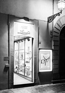 L' attuale sede di Foto Locchi in via del Corso 21r