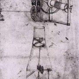 Il girarrosto di Leonardo da Vinci a villa La Ferdinanda