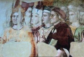 Dante e il dipinto di Giotto finito dietro le sbarre