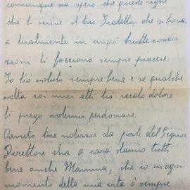 Guido Targetti martire del fascismo: la sua ultima lettera